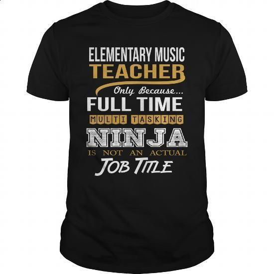 ELEMENTARY MUSIC TEACHER - NINJA WHITE - #polo shirt #men hoodies. SIMILAR ITEMS => https://www.sunfrog.com/LifeStyle/ELEMENTARY-MUSIC-TEACHER--NINJA-WHITE-Black-Guys.html?60505
