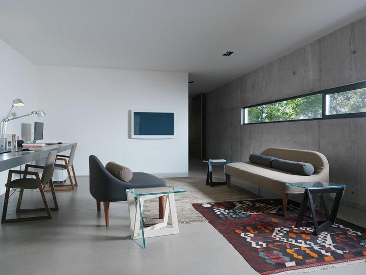 QUADROR 01 / Design: Dror, 2015 /\/\/\ RAY ARMCHAIR / design: Orlandini Design /\/\/\ BLA & BLABLA / Design: Meneghello Paolelli Associati