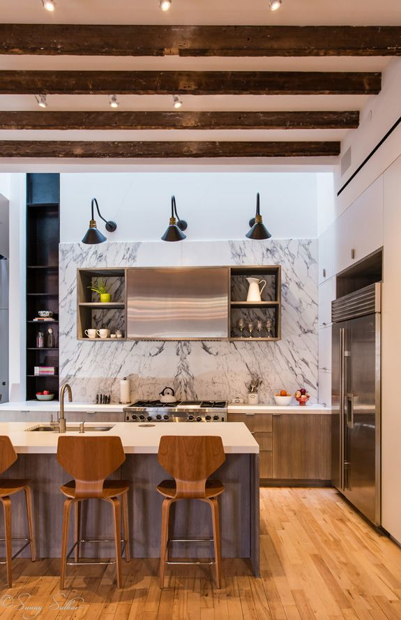 I recently featured this loft and this other loft by new for New york based architecture firms