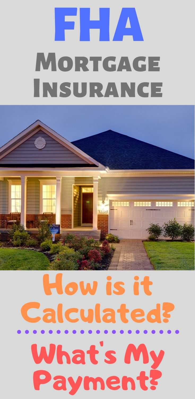 Fha Mortgage Insurance Estimate And Chart Fha Mortgage