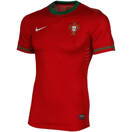 Nike Portugal National Team 20122014 Home Authentic Performance Soccer  Jersey Red