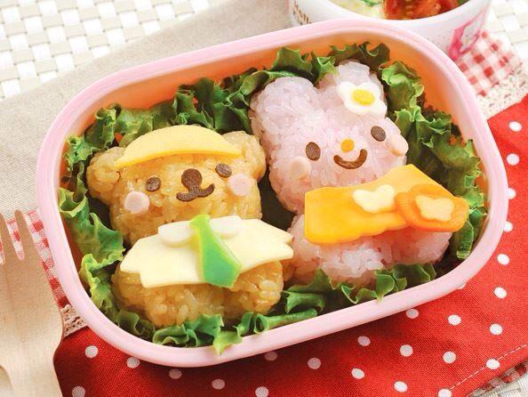 B003 teddy & bunny rice mold. In stock $7