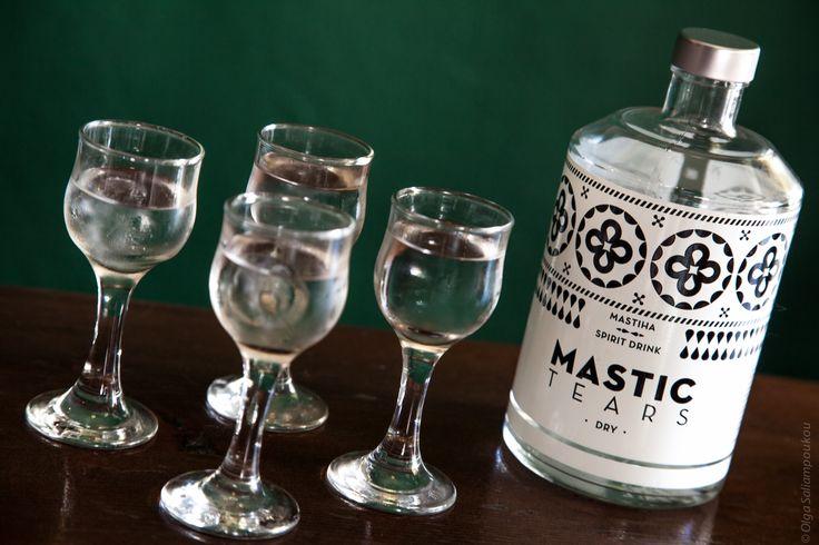 Mastic Tears Dry shots. Photo by Olga Saliampoukou photography.