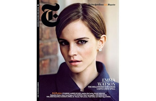"Emma Watson Photographed By Alasdair McLeallan For ""T"" Magazine"