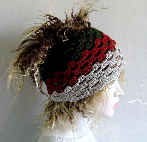 Knit Head Band Dreadlock Rasta Head Wrap Yoga Fitness Workout