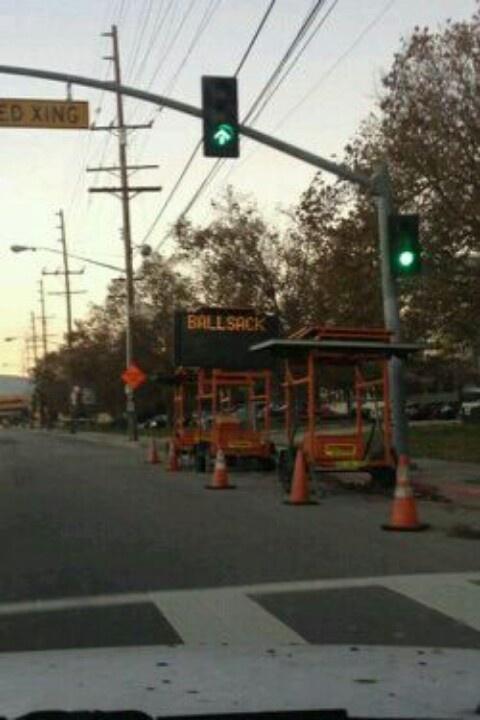 Construction sign lol