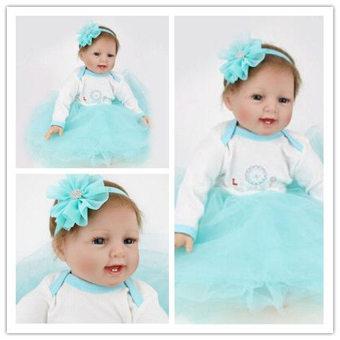 ==> [Free Shipping] Buy Best silicone reborn baby dolls Foreign goods original rebirth baby short hair big BABY dress up with sleeping doll children toys Online with LOWEST Price | 32802076685