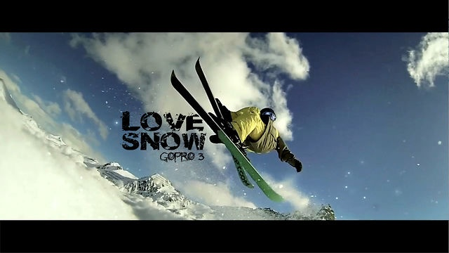 """Film made in the French Alps to """"La Plagne"""".  All shooting with the GOPRO HERO 3 - Black Edition - mode 1280x720 - 120 fps   Edit : FCP/ Magic Bullet / Twixtor  Music : John Lennon - LOVE (acoustic version)  facebook.com/FKY.creation  Others GoPro works : https://vimeo.com/48240542, https://vimeo.com/28010797, https://vimeo.com/37026953"""