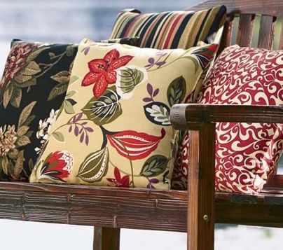 Update Your Patio Furniture With Bright Colors And Brilliant Patterns.    Www.countrydoor.