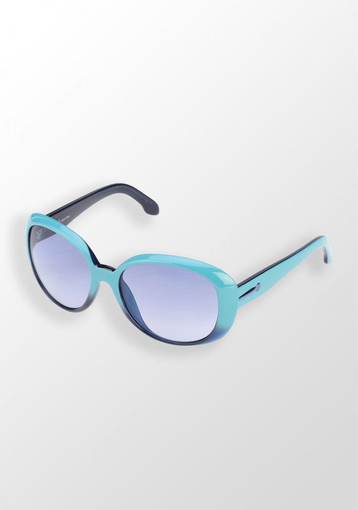 Calvin Klein, ochelari de soare, turcoaz