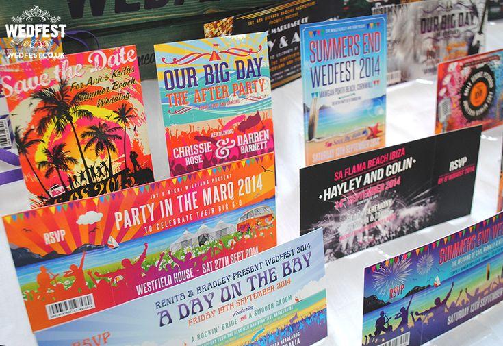 beach seaside themed wedding invitations - http://www.wedfest.co/quirky-weddings-wedding-stationery-belfast/ #wedfest