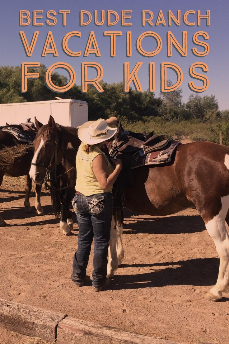 Thinking about a family dude ranch vacation? Here are the 10 best dude ranches for families.