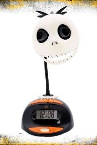 The Nightmare Before Christmas Jack Lamp Alarm Clock