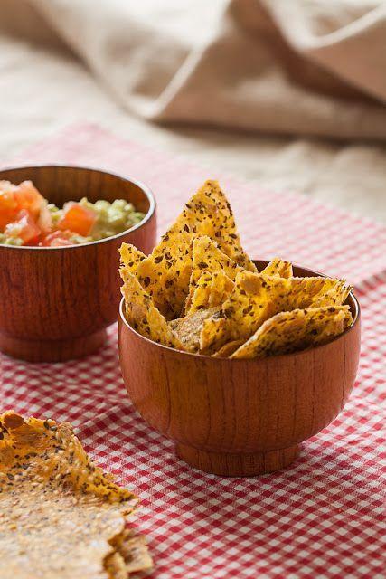 Jednostavni kukuruzni krekeri sa susamom, suncokretovim i lanenim semenkama