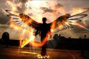 Sei tu il mio angelo custode…a proteggermi con le tue ali dorate..grazie