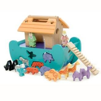 Le Toy Van wooden Le Petit Ark is online at DirectToys NZ
