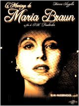 Le mariage de Maria Braun RW Fassbinder