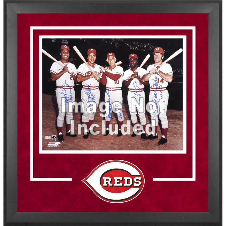 "Cincinnati Reds Fanatics Authentic 16"" x 20"" Deluxe Horizontal Photograph Frame - $143.99"