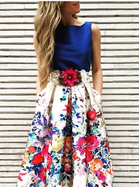 #Look de invitada.