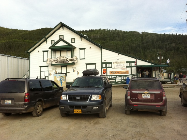 Gerties Gambling Hall in Dawson City, Yukon Territory: Yukon Nwt