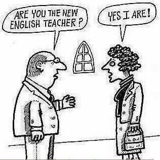 Funny english teacher cartoon