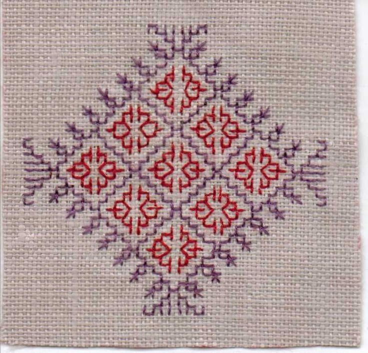 Kasuti medallion bordado pinterest bordado mantas - Mantas de ganchillo faciles ...