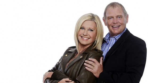 Review of Olivia Newton-John and John Farnham at Qantas Credit Union Area, Sydney, Australia.
