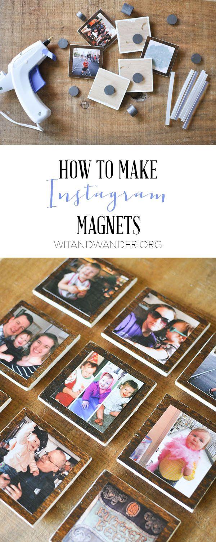 DIY Instagram Magnets - Wit & Wander