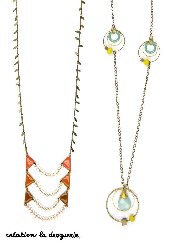 On adore les jolis sautoirs pour personnaliser une tenue d'été !! #ladroguerie #bijoux #sautoir