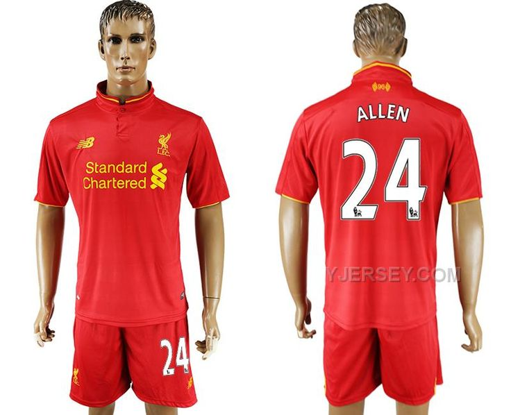http://www.yjersey.com/201617-liverpool-24-allen-home-soccer-jersey.html Only$35.00 2016-17 LIVERPOOL 24 ALLEN HOME SOCCER JERSEY Free Shipping!