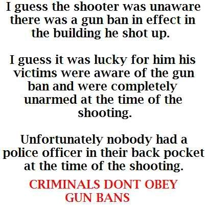 Gun control...Not!