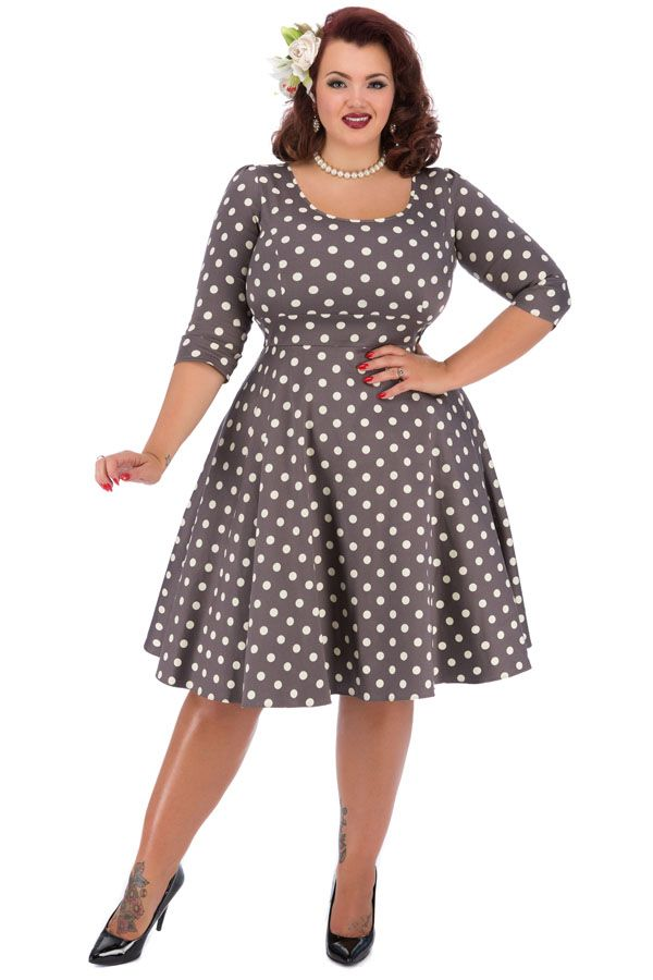 plus size 60s dress xoxo
