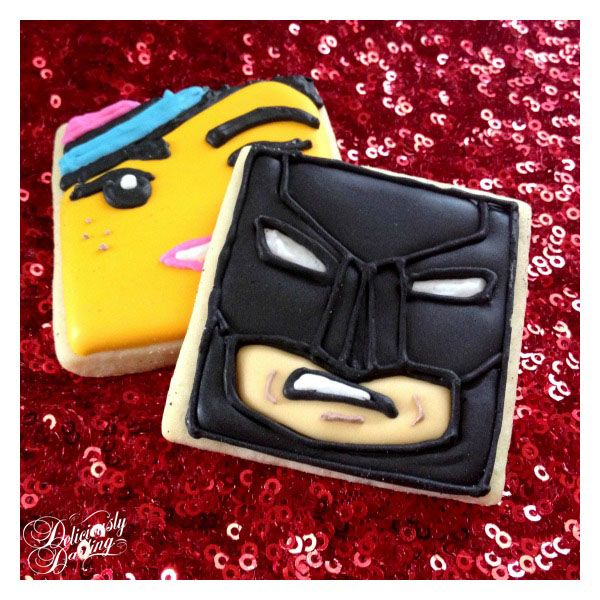 Deliciously Darling | The Lego Movie | Birthday Party | Lego Movie Cookies #fireflyconfections
