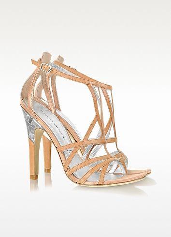 Picasso - Sandales en cuir métallisé - Sigerson Morrison