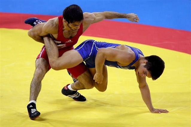 Let's Do The Twist - Wrestling Slideshows | NBC Olympics