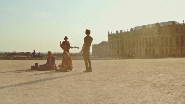 Music video shot by a drone, photographed over the palace of Versailles. Band: Phoenix. Song: Entertainment.
