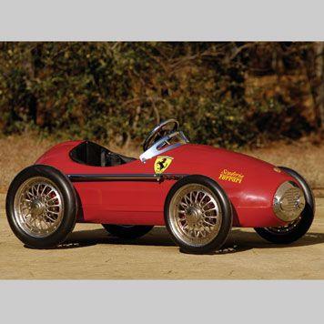 FERRARI PEDAL CAR | The Ponder Collection 2007 | RM AUCTIONS