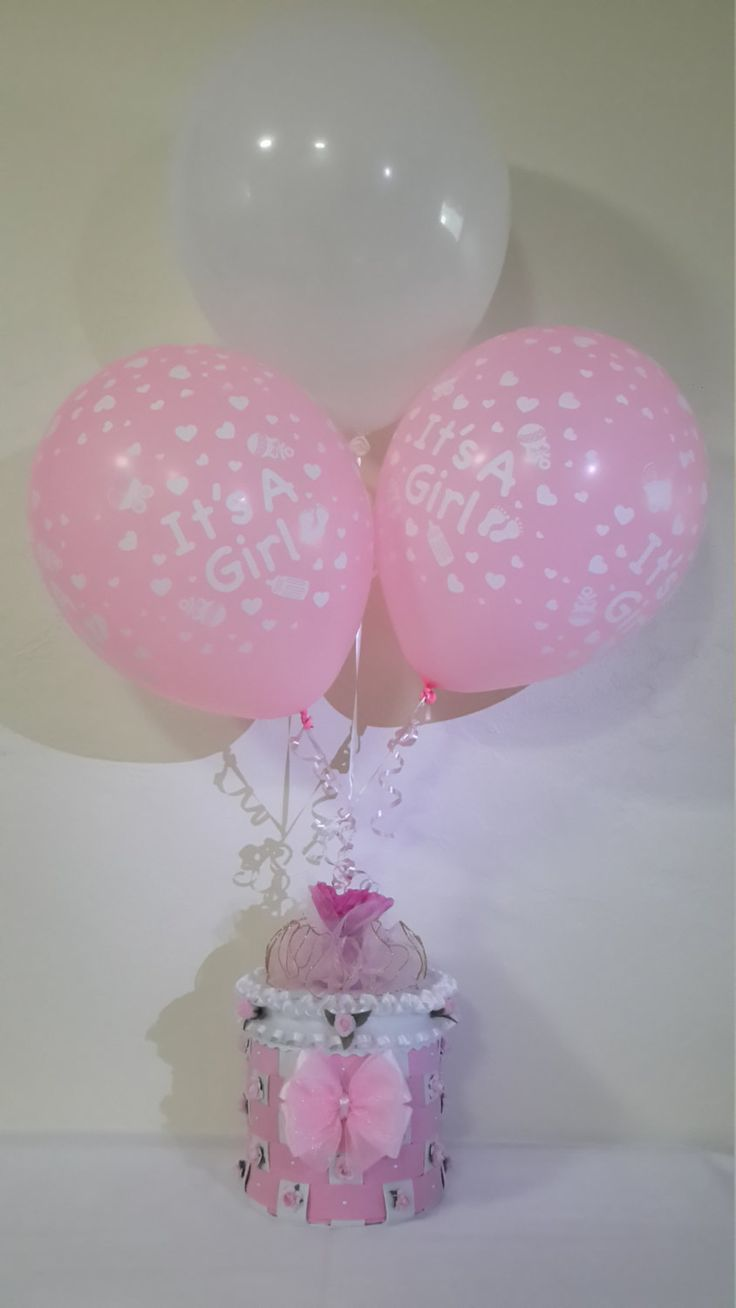 Images about baby shower on pinterest centerpieces unique baby - Baby Girl Centerpiece Baby Shower Centerpiece Ballons Holder Centerpiece Girls Party Centerpiece By