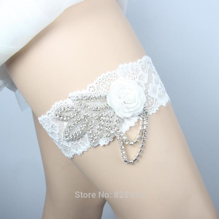 Find More Garters Information About LOWOSAiWOR Factory Wholesale Flower Design White Lace Sexy Women Wedding Garter