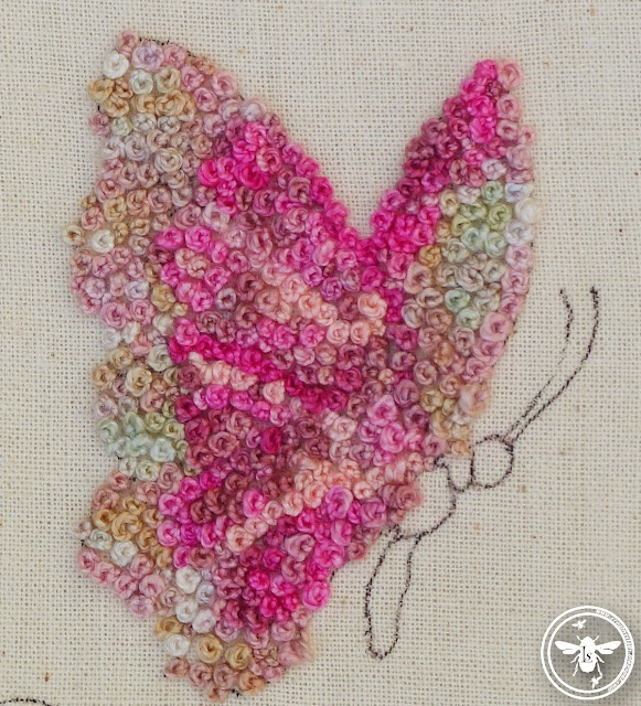 french knots.....   Embroidery   Pinterest