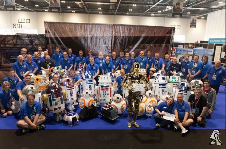 This is the UK R2 Droid Builders Club webpage. Here we show the world what we are up to with our self built 1:1 replica R2D2 from the the Star Wars films, as well as other Astromech Droids!