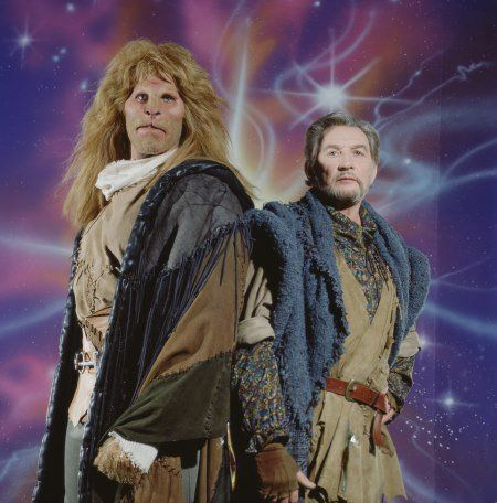 Still of Ron Perlman and Roy Dotrice in Beauty and the Beast (1987)