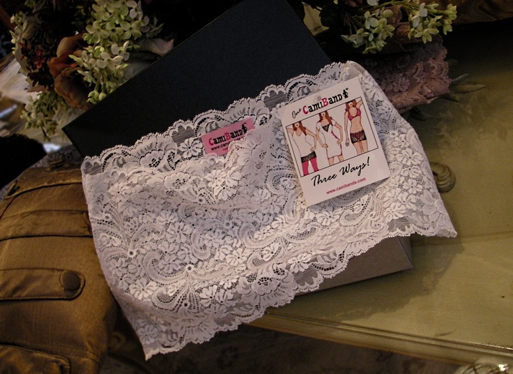 Favorite Spring and Summer wardrobe staple~The White Lace Camiband...wear it 3 ways ;)  www.camibands.comSummer Wardrobe