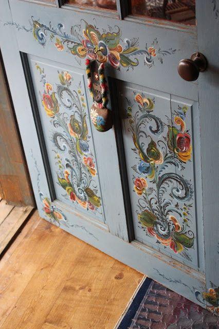 Door- Bauernmalerei