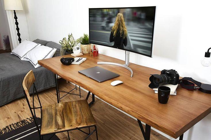 Clean Home Office Setup By @ultrawide_fest . . . . #38WK95C #LG #LGUltraWideMonitor #UltraWideMonitor #LGMonitor #LGUltraWide #UltraWide #Monitor #editingsetup #editing #creative #professional #productivity #movie #design #art #lifestyle #work #photo #inspiration #workspace #workstation #thunderbolt3 #thunderboltdisplay #thunderbolt #ips #HDR10