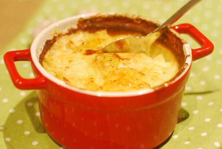 LILLIANs MATBLOGG: Fløtegratinerte poteter med hvitløk