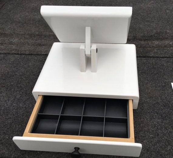 iPad stand cash register Black or White it by SquareWoodProducts