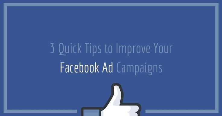 3 Quick Tips to Improve Your Facebook Ad Campaigns http://rite.ly/jdkc