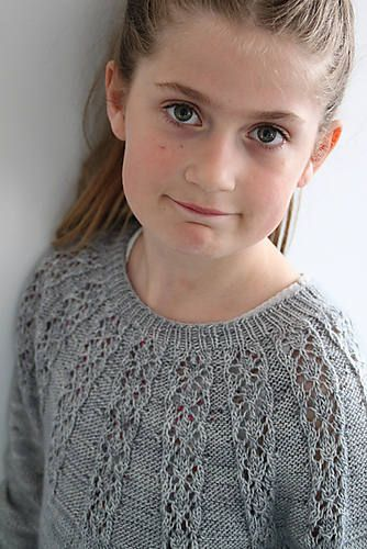 Excited to share the latest addition to my #etsy shop: PDF knitting pattern Miranda sweater http://etsy.me/2Cg5Fur #supplies #knitting #topdownsweater #lightweightsweater #pattern #lacesweater #knit #childrensclothes #girlssweater