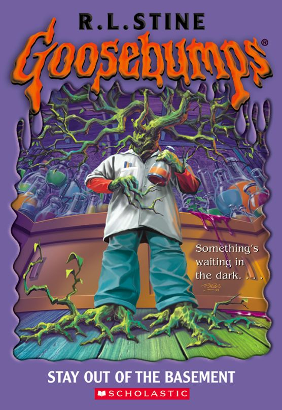 goosebumps stay out of the basement